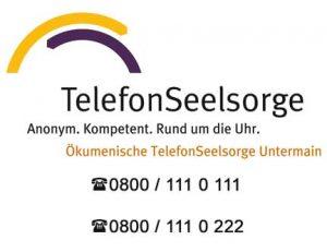 Diakonie Aschaffenburg - Telefonseelsorge -0800 / 111 0 111 und 0800 / 111 0 222
