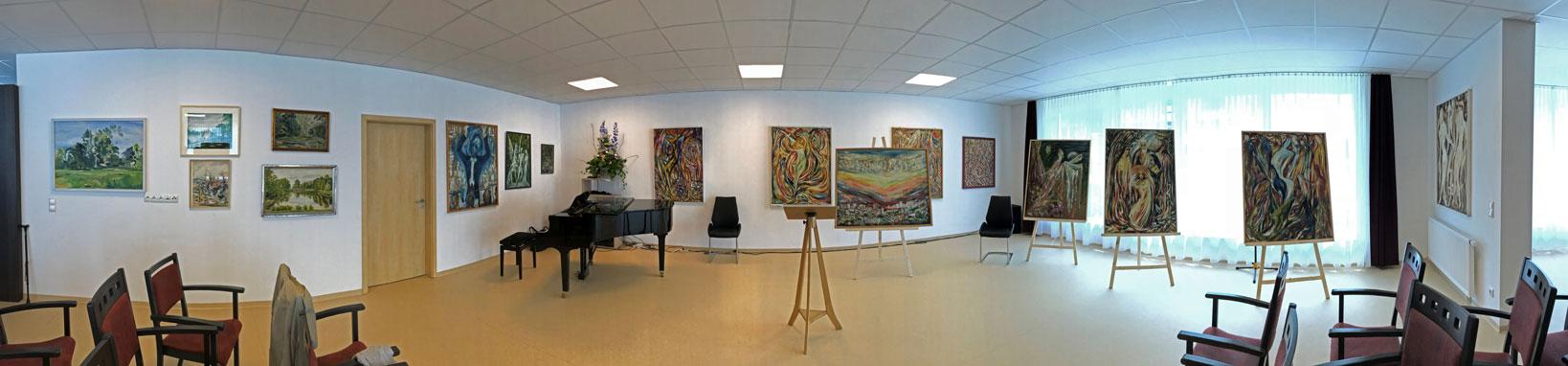 Diakonie Aschaffenburg - Ausstellung Paul Romberger